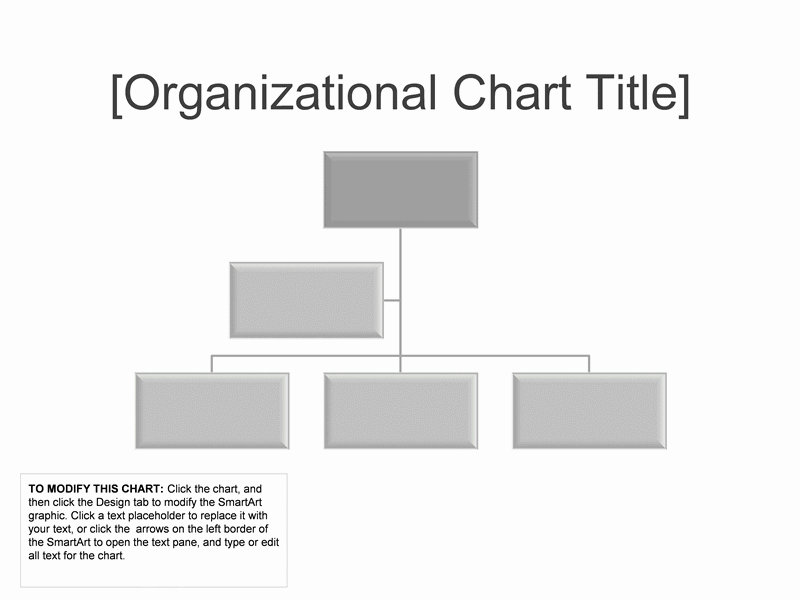 01 Business Organizational Chart