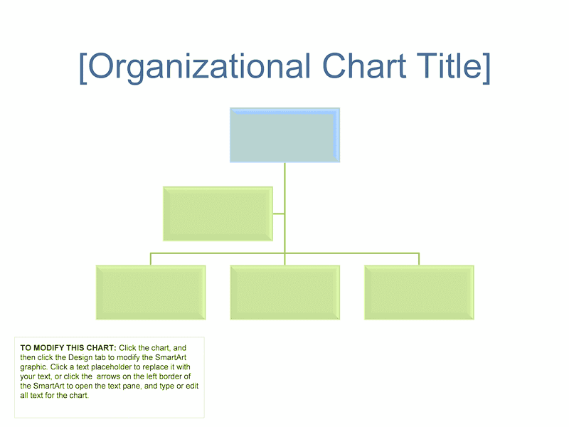 03 Business Organizational Chart