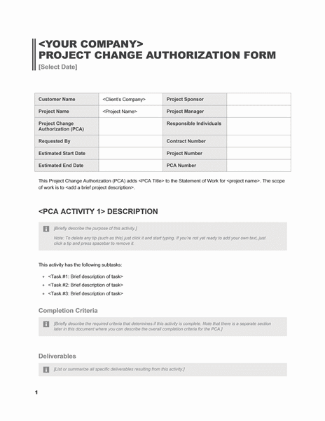 01 Business Project Change Of Authorization Hipaa Privacy Rights Request Form Templates Microsoft Word