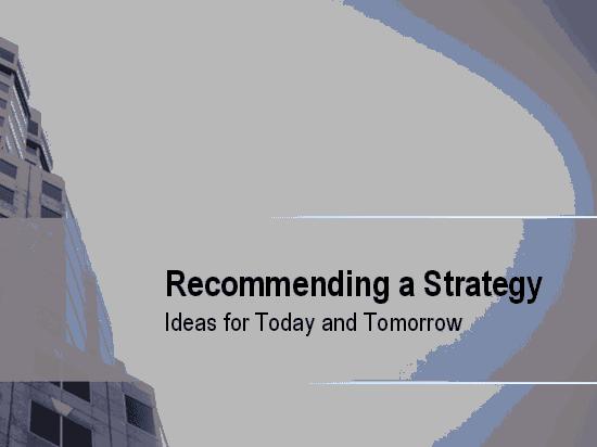 01 Business Strategy Presentation