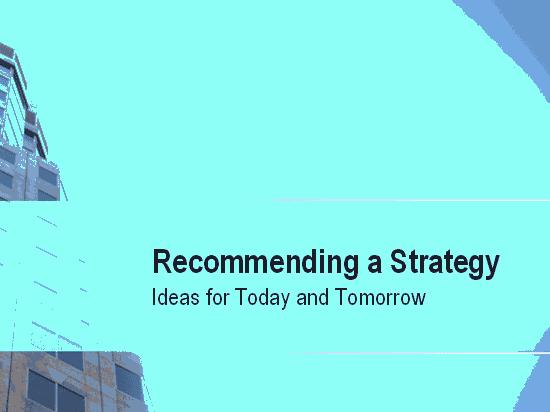 03 Business Strategy Presentation