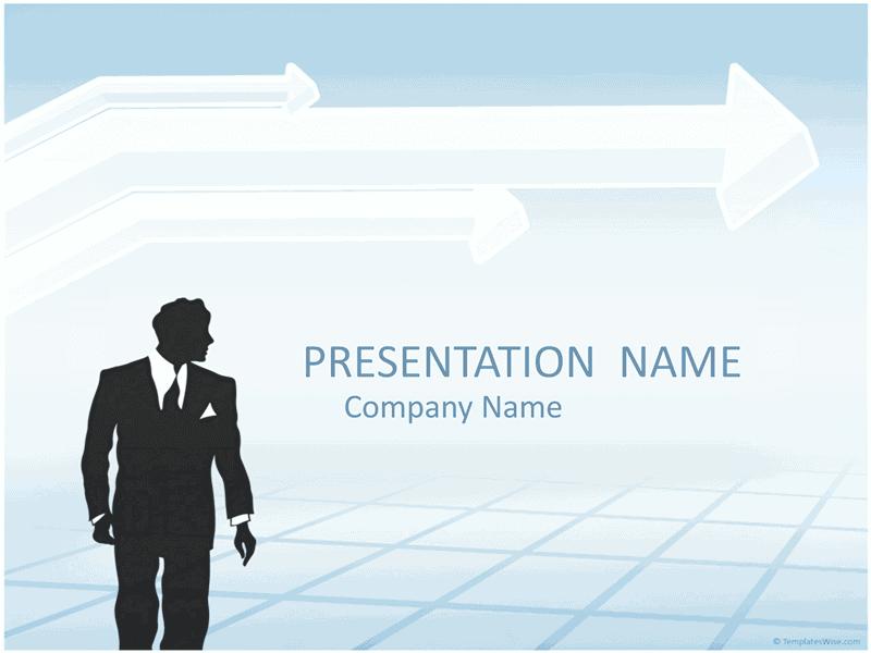 03 Businessman Silhouette Presentation