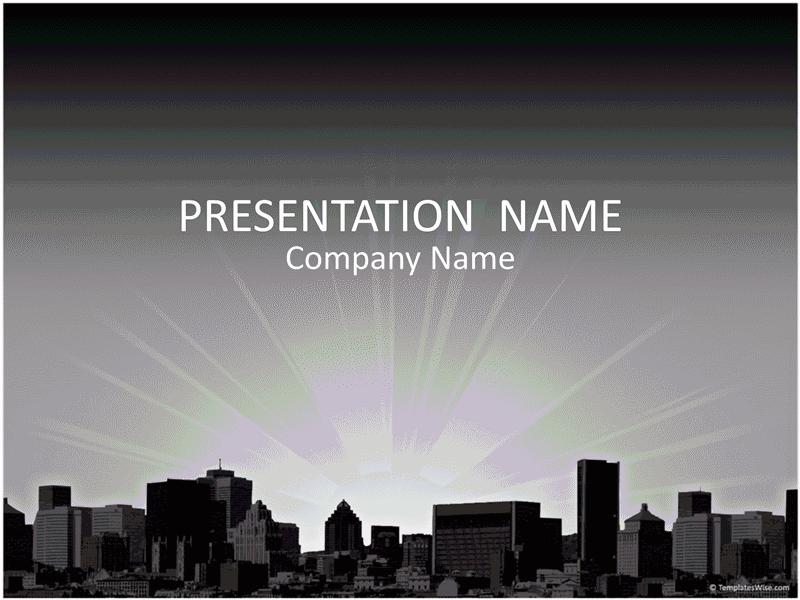 01 City Landscape Business Presentation