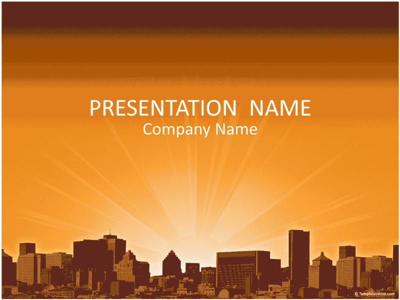 02 City Landscape Business Presentation
