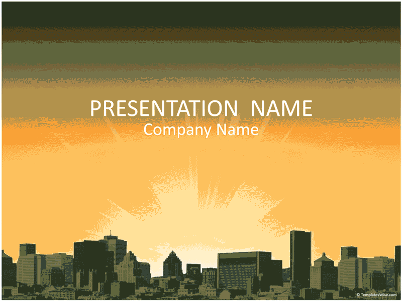 03 City Landscape Business Presentation