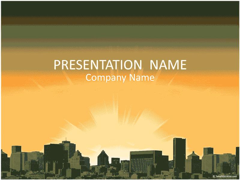 03 City Landscape Business Presentation