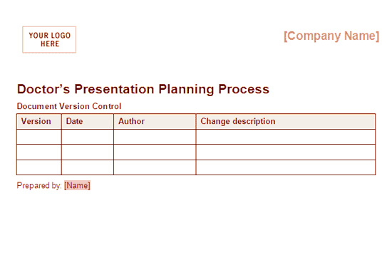 Download 02 Doctors Presentation Planning Process Framework