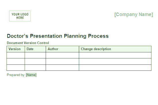 Download 03 Doctors Presentation Planning Process Framework