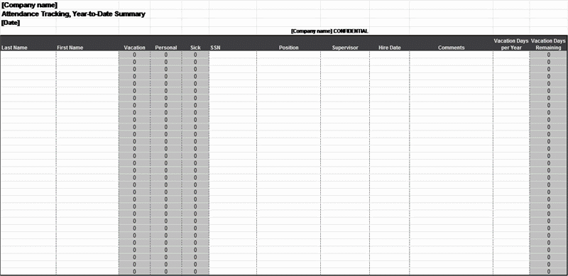 01 Employee Attendance Tracker