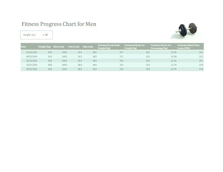 Download 03 Fitness Progress Tracker For Men (metric)