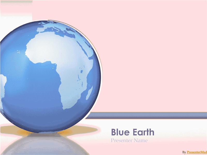 02 Glassy Blue Earth Presentation