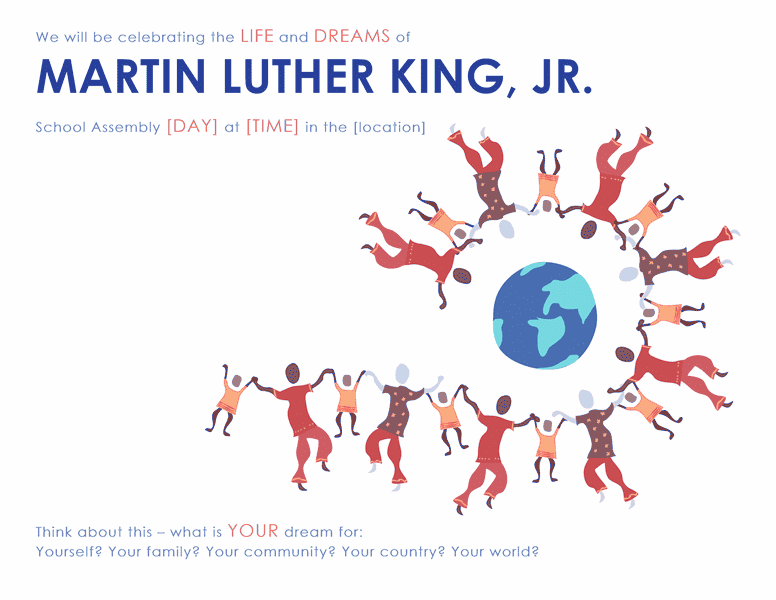 Download Samples-4 Martin Luther King Day Wanted Poster Template