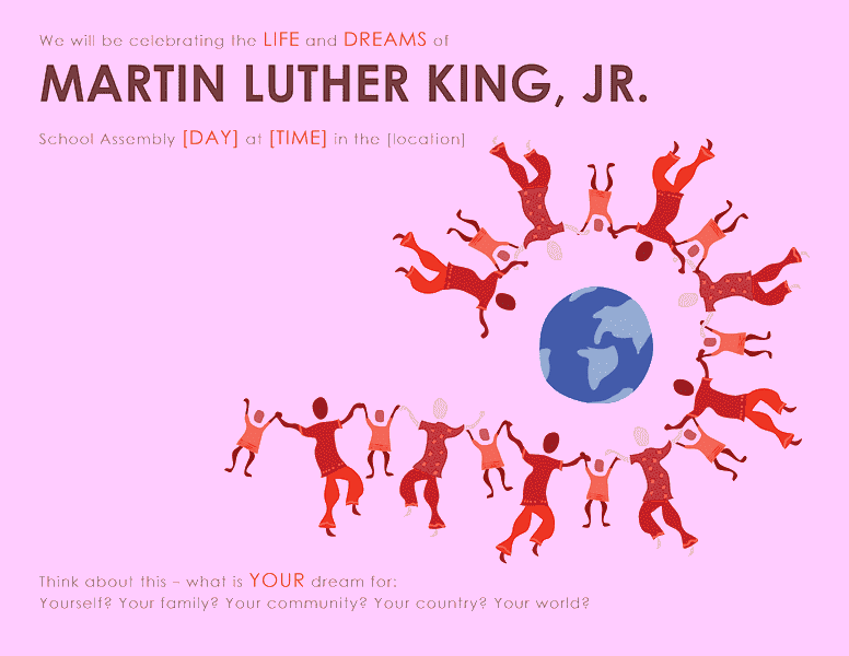 Download Samples-6 Martin Luther King Day Wanted Poster Template