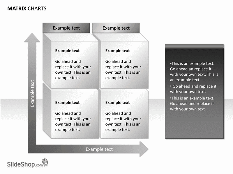 01 Matrix Chart Examples (15 Slides)