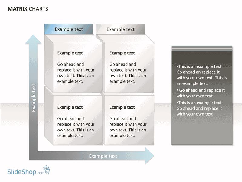 02 Matrix Chart Examples (15 Slides)