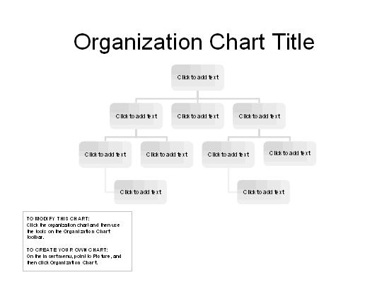 Download Organizational Chart Basic Layout for Microsoft Office – Basic Organization Chart