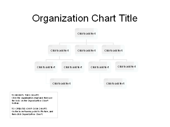 Download 02 Organizational Chart (basic Layout)