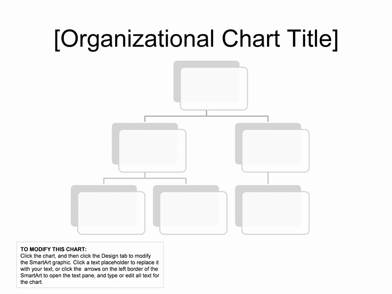 01 Organizational Chart Simple Basic And Easy Layout