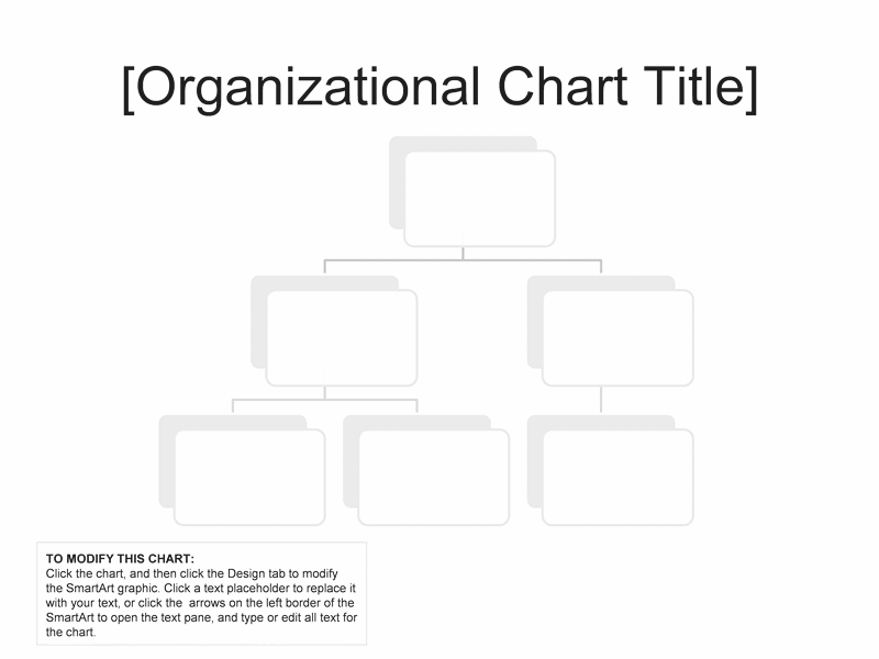 02 Organizational Chart Simple Basic And Easy Layout