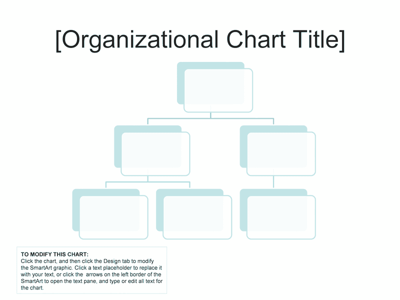 Download 03 Organizational Chart Simple Basic And Easy Layout