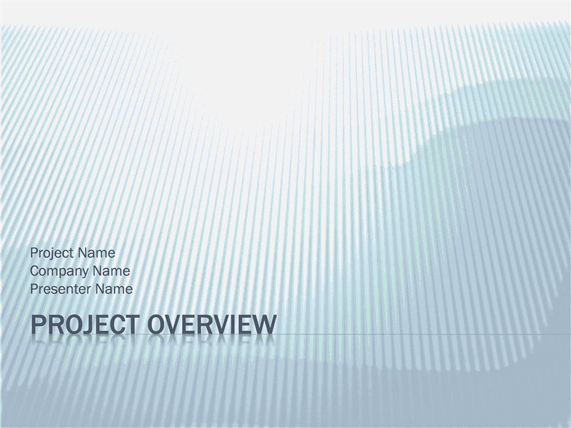 01 Project Overview Presentation