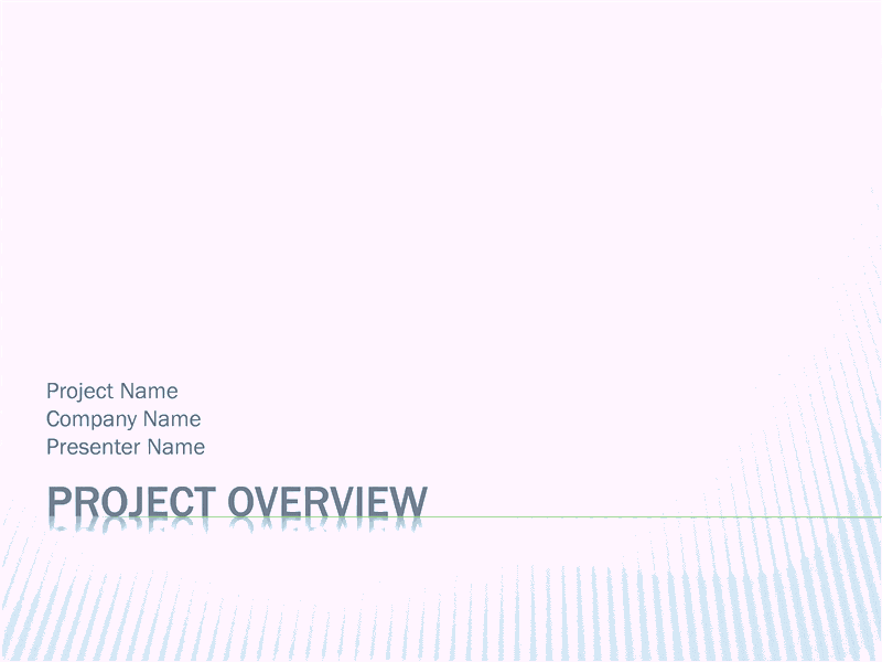 02 Project Overview Presentation