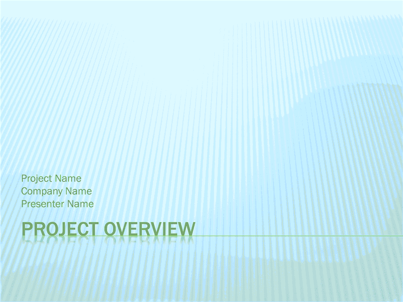 03 Project Overview Presentation