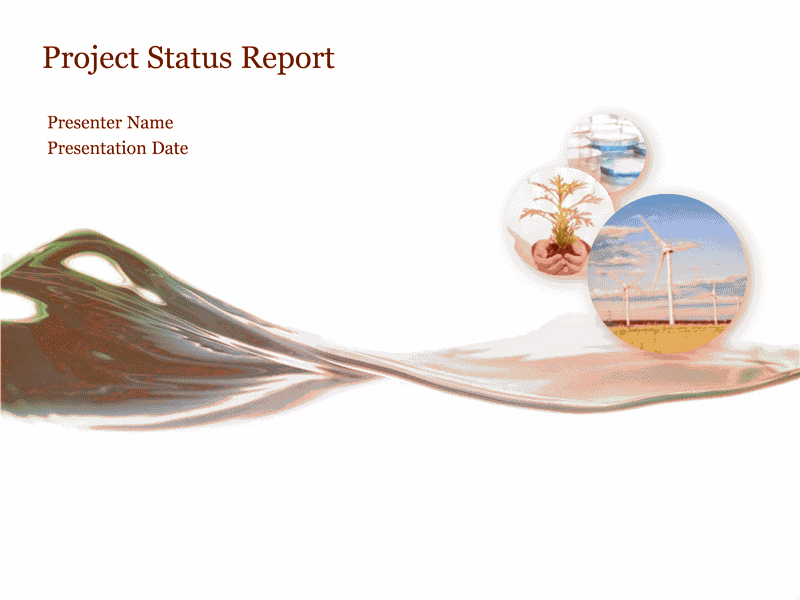 Download 02 Project Status Report Presentation
