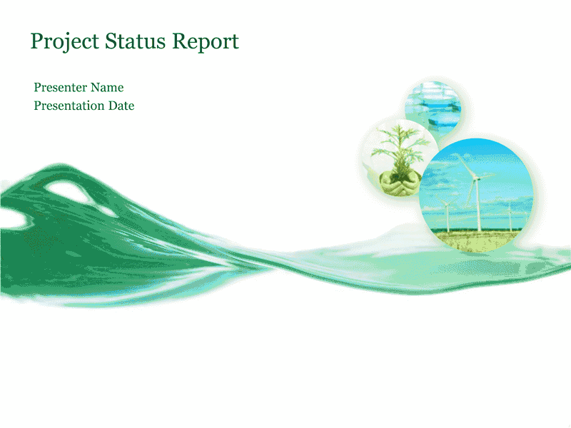 Download 03 Project Status Report Presentation