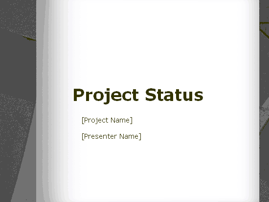 Download 02 Project Status Report