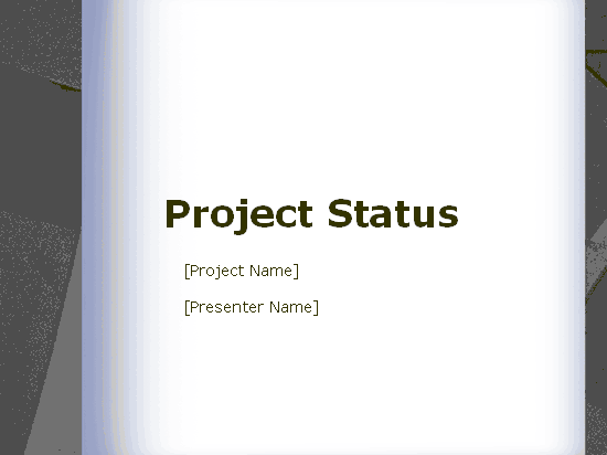 Download 03 Project Status Report