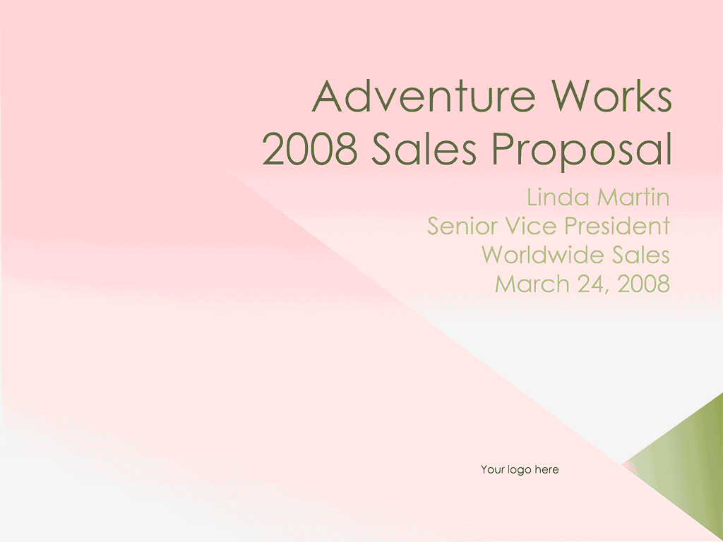 02 Sales Proposal Presentation