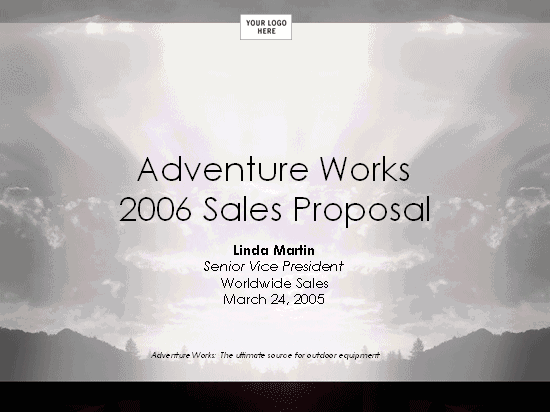 01 Sales Strategy Proposal Presentation