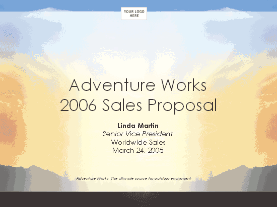 03 Sales Strategy Proposal Presentation