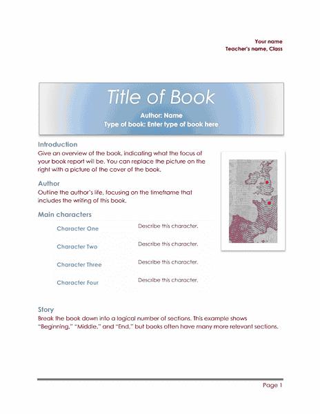 02 School Book Report