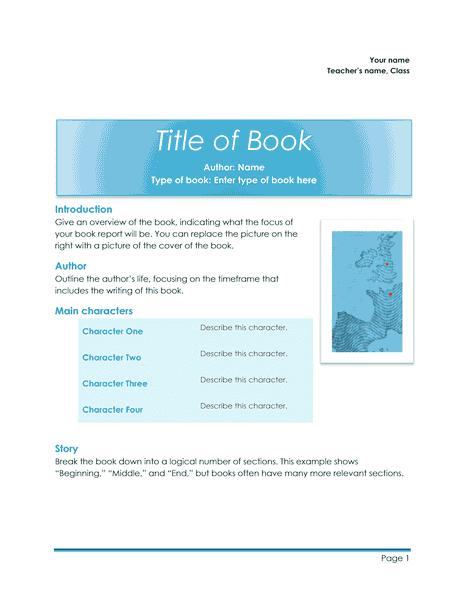 03 School Book Report