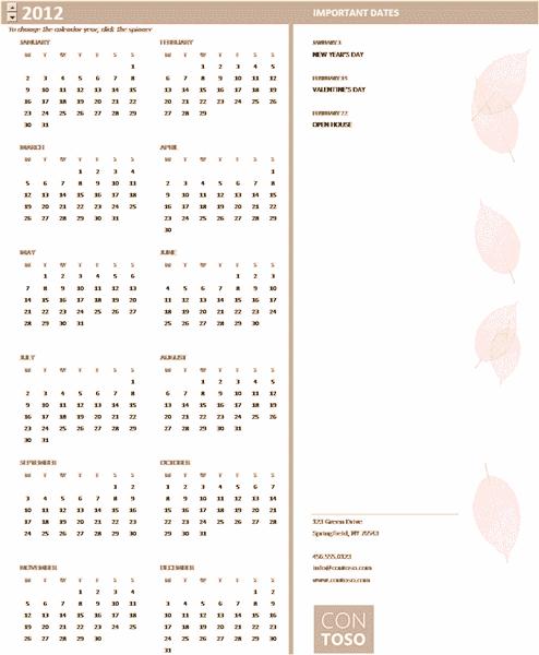 small business calendar any year mon sun calendars templates