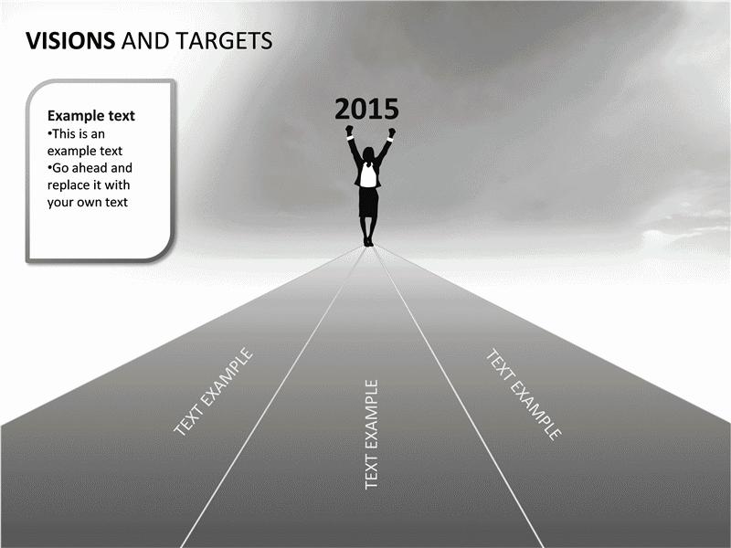 01 Visions And Targets Presentation Slides