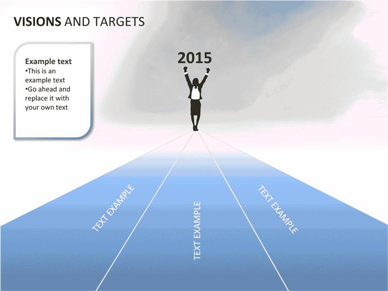 02 Visions And Targets Presentation Slides