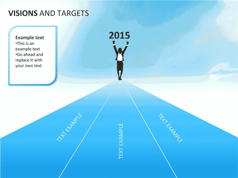 03 Visions And Targets Presentation Slides